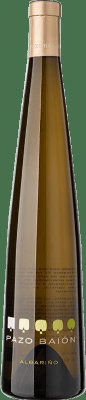 18,95 € Free Shipping | White wine Pazo Baión D.O. Rías Baixas Galicia Spain Albariño Bottle 75 cl