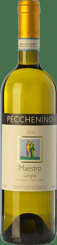 12,95 € | White wine Pecchenino Bianco Maestro D.O.C. Langhe Piemonte Italy Chardonnay, Sauvignon Bottle 75 cl