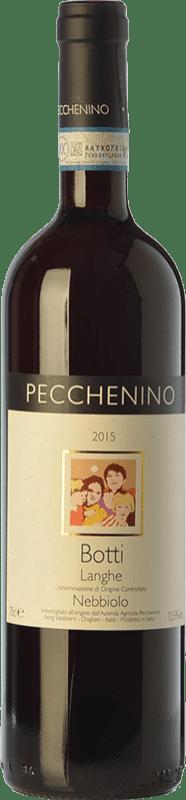 17,95 € | Red wine Pecchenino Botti D.O.C. Langhe Piemonte Italy Nebbiolo Bottle 75 cl
