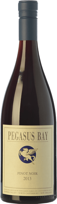 56,95 € Free Shipping | Red wine Pegasus Bay Reserva I.G. Waipara Waipara New Zealand Pinot Black Bottle 75 cl