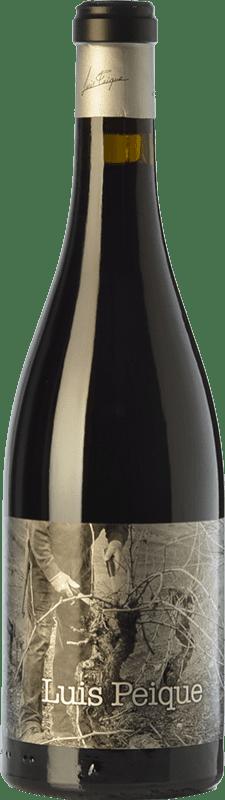 43,95 € Envío gratis | Vino tinto Peique Luis Crianza D.O. Bierzo Castilla y León España Mencía Botella 75 cl