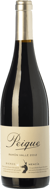 9,95 € Envoi gratuit | Vin rouge Peique Ramón Valle Joven D.O. Bierzo Castille et Leon Espagne Mencía Bouteille 75 cl