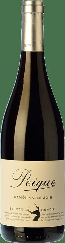 9,95 € Envío gratis | Vino tinto Peique Ramón Valle Joven D.O. Bierzo Castilla y León España Mencía Botella 75 cl