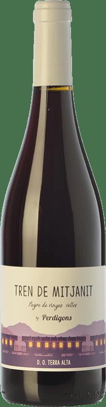9,95 € | Red wine Perdigons Tren de Mitjanit Joven D.O. Terra Alta Catalonia Spain Grenache, Carignan Bottle 75 cl