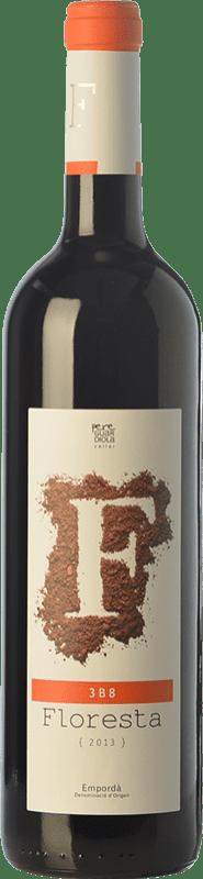 8,95 € Envío gratis | Vino tinto Pere Guardiola Floresta 3B8 Reserva D.O. Empordà Cataluña España Merlot, Syrah, Garnacha, Mazuelo Botella 75 cl