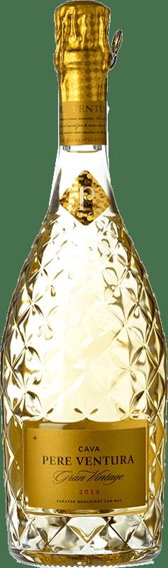 71,95 € | White sparkling Pere Ventura Gran Vintage Gran Reserva D.O. Cava Catalonia Spain Macabeo, Xarel·lo Bottle 75 cl