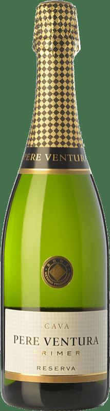 17,95 € | White sparkling Pere Ventura Primer Brut Reserva D.O. Cava Catalonia Spain Macabeo, Xarel·lo, Parellada Bottle 75 cl