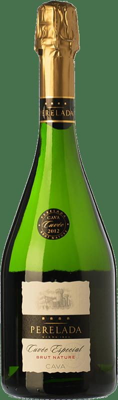 8,95 € | White sparkling Perelada Cuvée Especial Brut Nature D.O. Cava Catalonia Spain Macabeo, Xarel·lo, Chardonnay, Parellada Bottle 75 cl