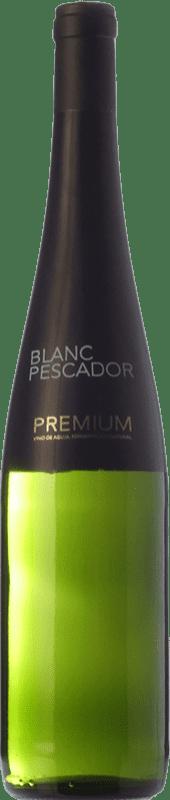 8,95 € Envío gratis | Vino blanco Perelada Blanc Pescador Premium Crianza D.O. Empordà Cataluña España Xarel·lo, Chardonnay Botella 75 cl
