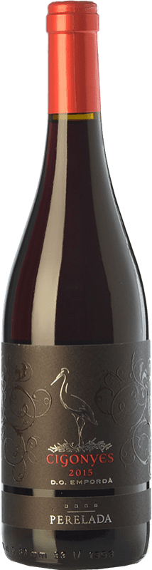8,95 € Free Shipping | Red wine Perelada Cigonyes Joven D.O. Empordà Catalonia Spain Syrah, Grenache Bottle 75 cl