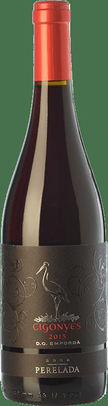8,95 € | Red wine Perelada Cigonyes Joven D.O. Empordà Catalonia Spain Syrah, Grenache Bottle 75 cl