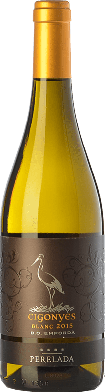 8,95 € 免费送货   白酒 Perelada Cigonyes D.O. Empordà 加泰罗尼亚 西班牙 Macabeo, Sauvignon White 瓶子 75 cl