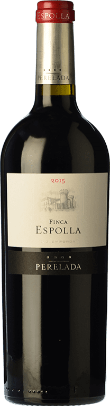 16,95 € | Red wine Perelada Finca Espolla Crianza D.O. Empordà Catalonia Spain Syrah, Grenache, Cabernet Sauvignon, Monastrell, Samsó Bottle 75 cl