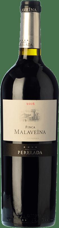 48,95 € | Red wine Perelada Finca Malaveïna Crianza D.O. Empordà Catalonia Spain Merlot, Syrah, Grenache, Cabernet Sauvignon Magnum Bottle 1,5 L