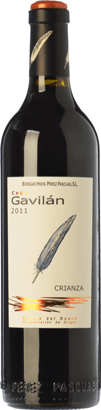 28,95 € | Red wine Pérez Pascuas Cepa Gavilán Crianza D.O. Ribera del Duero Castilla y León Spain Tempranillo Magnum Bottle 1,5 L