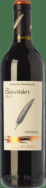 28,95 € Envío gratis | Vino tinto Pérez Pascuas Cepa Gavilán Crianza D.O. Ribera del Duero Castilla y León España Tempranillo Botella Mágnum 1,5 L