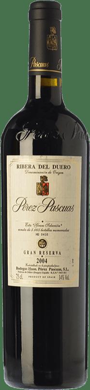 285,95 € 免费送货 | 红酒 Pérez Pascuas Gran Selección Gran Reserva D.O. Ribera del Duero 卡斯蒂利亚莱昂 西班牙 Tempranillo 瓶子 75 cl