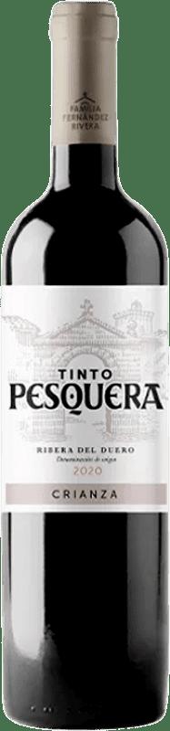 17,95 € Free Shipping | Red wine Pesquera Crianza D.O. Ribera del Duero Castilla y León Spain Tempranillo Bottle 75 cl