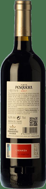 21,95 € Free Shipping | Red wine Pesquera Crianza D.O. Ribera del Duero Castilla y León Spain Tempranillo Bottle 75 cl