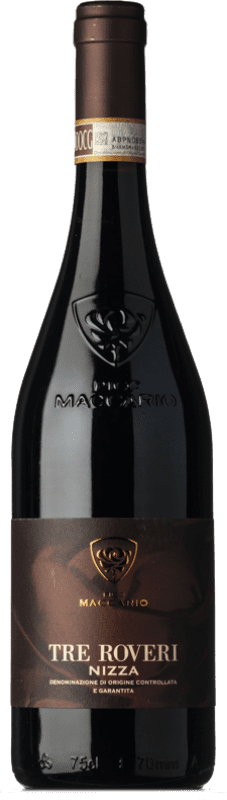 21,95 € Free Shipping | Red wine Pico Maccario Superiore Tre Roveri D.O.C. Barbera d'Asti Piemonte Italy Barbera Bottle 75 cl