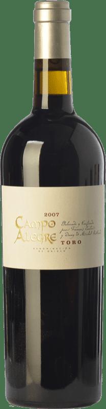 18,95 € Envío gratis | Vino tinto Piedra Negra François Lurton Campo Alegre Crianza D.O. Toro Castilla y León España Tinta de Toro Botella 75 cl
