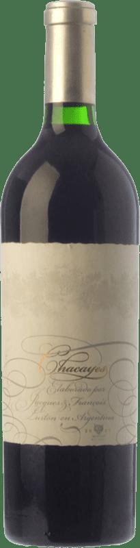 72,95 € Envío gratis | Vino tinto Piedra Negra François Lurton Chacayes Crianza I.G. Mendoza Mendoza Argentina Malbec Botella 75 cl