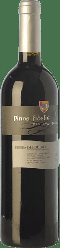 24,95 € Envío gratis | Vino tinto Pinna Fidelis Reserva D.O. Ribera del Duero Castilla y León España Tempranillo Botella 75 cl
