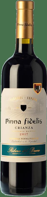 16,95 € Envío gratis | Vino tinto Pinna Fidelis Crianza D.O. Ribera del Duero Castilla y León España Tempranillo Botella 75 cl
