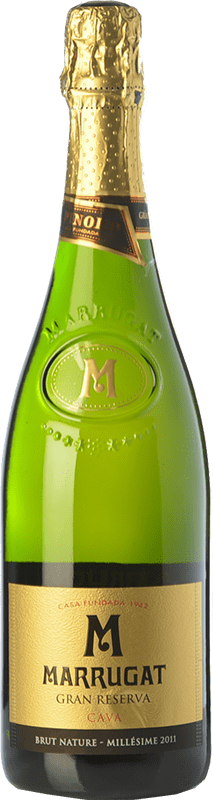 14,95 € | White sparkling Pinord Marrugat Brut Nature Gran Reserva D.O. Cava Catalonia Spain Macabeo, Xarel·lo, Parellada Bottle 75 cl