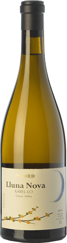 28,95 € Free Shipping | White wine Pinord Lluna Nova Crianza D.O. Penedès Catalonia Spain Xarel·lo Bottle 75 cl