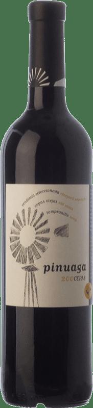 16,95 € | Red wine Pinuaga 200 Cepas Crianza I.G.P. Vino de la Tierra de Castilla Castilla la Mancha Spain Tempranillo Bottle 75 cl