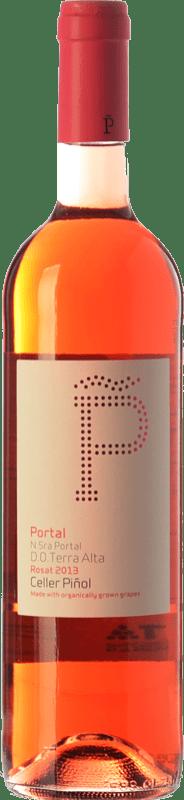 12,95 € Envío gratis | Vino rosado Piñol Nuestra Señora del Portal D.O. Terra Alta Cataluña España Syrah, Garnacha Botella 75 cl