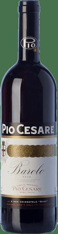 86,95 € 免费送货   红酒 Pio Cesare D.O.C.G. Barolo 皮埃蒙特 意大利 Nebbiolo 瓶子 75 cl