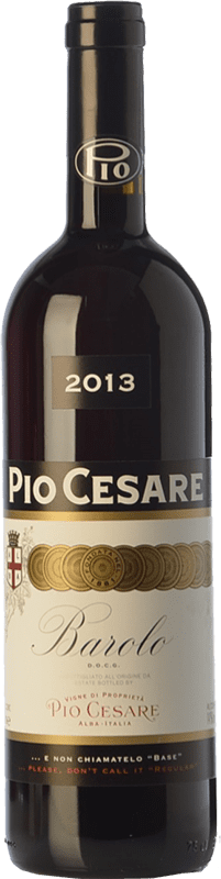 86,95 € Free Shipping | Red wine Pio Cesare D.O.C.G. Barolo Piemonte Italy Nebbiolo Bottle 75 cl