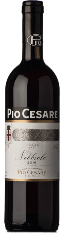 26,95 € Free Shipping | Red wine Pio Cesare D.O.C. Langhe Piemonte Italy Nebbiolo Bottle 75 cl