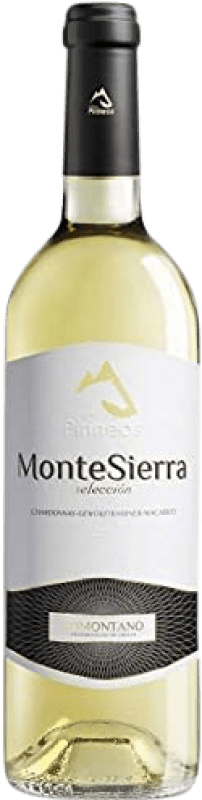 4,95 € Envoi gratuit | Vin blanc Pirineos Montesierra Joven D.O. Somontano Aragon Espagne Macabeo, Chardonnay Bouteille 75 cl