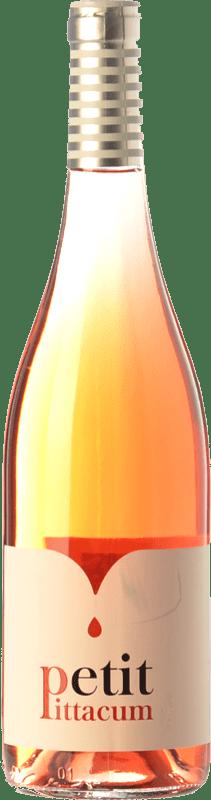 6,95 € 免费送货 | 玫瑰酒 Pittacum Petit D.O. Bierzo 卡斯蒂利亚莱昂 西班牙 Mencía 瓶子 75 cl