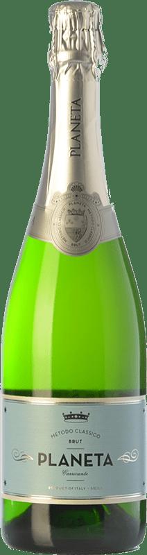 22,95 €   White sparkling Planeta Brut I.G.T. Terre Siciliane Sicily Italy Carricante Bottle 75 cl