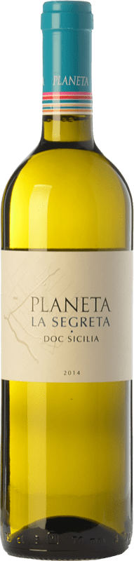 11,95 €   White wine Planeta La Segreta Bianco I.G.T. Terre Siciliane Sicily Italy Viognier, Chardonnay, Fiano, Grecanico Dorato Bottle 75 cl