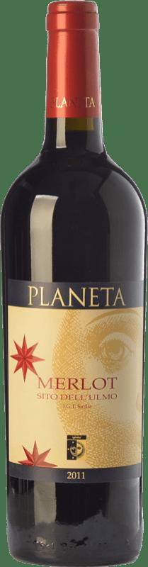 23,95 €   Red wine Planeta Merlot Sito dell'Ulmo I.G.T. Terre Siciliane Sicily Italy Merlot, Petit Verdot Bottle 75 cl