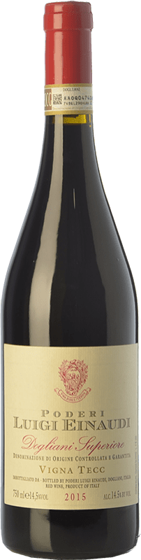 16,95 € Free Shipping | Red wine Einaudi Superiore Vigna Tecc D.O.C.G. Dolcetto di Dogliani Superiore Piemonte Italy Dolcetto Bottle 75 cl