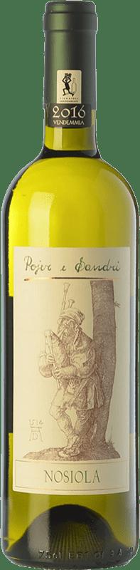 13,95 € Free Shipping | White wine Pojer e Sandri I.G.T. Vigneti delle Dolomiti Trentino Italy Nosiola Bottle 75 cl