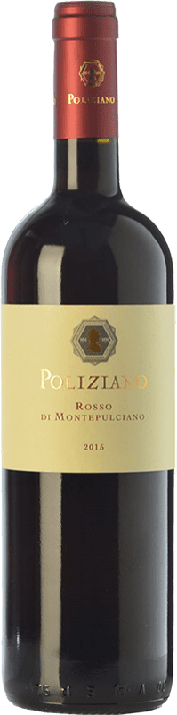 15,95 € Free Shipping | Red wine Poliziano D.O.C. Rosso di Montepulciano Tuscany Italy Merlot, Sangiovese Bottle 75 cl