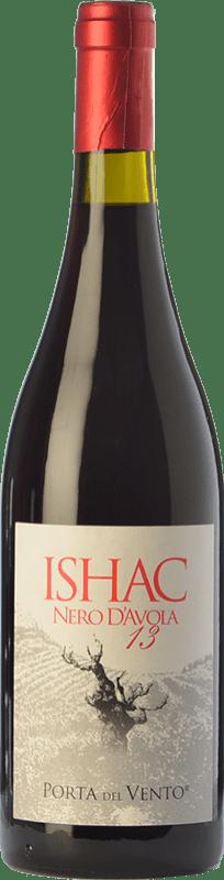 21,95 € Free Shipping | Red wine Porta del Vento Ishac I.G.T. Terre Siciliane Sicily Italy Nero d'Avola Bottle 75 cl