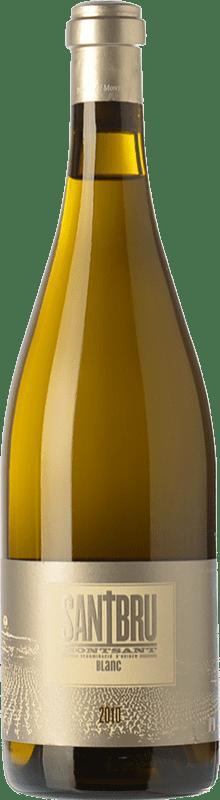 16,95 € Envoi gratuit | Vin blanc Portal del Montsant Santbru Blanc Crianza D.O. Montsant Catalogne Espagne Grenache Blanc, Chardonnay Bouteille 75 cl