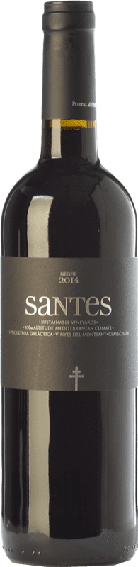 7,95 € Free Shipping | Red wine Portal del Montsant Santes Negre Joven D.O. Catalunya Catalonia Spain Tempranillo Bottle 75 cl