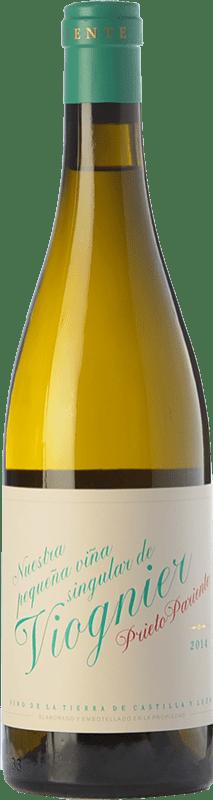 15,95 € Free Shipping | White wine Prieto Pariente Crianza I.G.P. Vino de la Tierra de Castilla y León Castilla y León Spain Viognier Bottle 75 cl