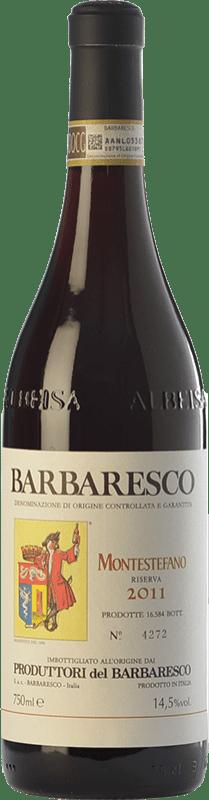 59,95 € | Red wine Produttori del Barbaresco Montestefano D.O.C.G. Barbaresco Piemonte Italy Nebbiolo Bottle 75 cl