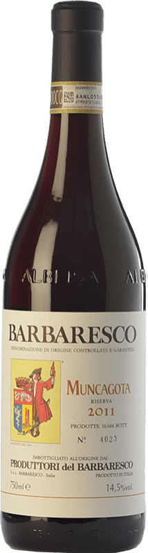 47,95 € | Red wine Produttori del Barbaresco Muncagota D.O.C.G. Barbaresco Piemonte Italy Nebbiolo Bottle 75 cl