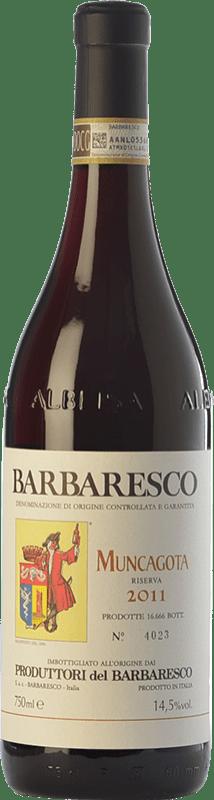 47,95 € Envío gratis | Vino tinto Produttori del Barbaresco Muncagota D.O.C.G. Barbaresco Piemonte Italia Nebbiolo Botella 75 cl